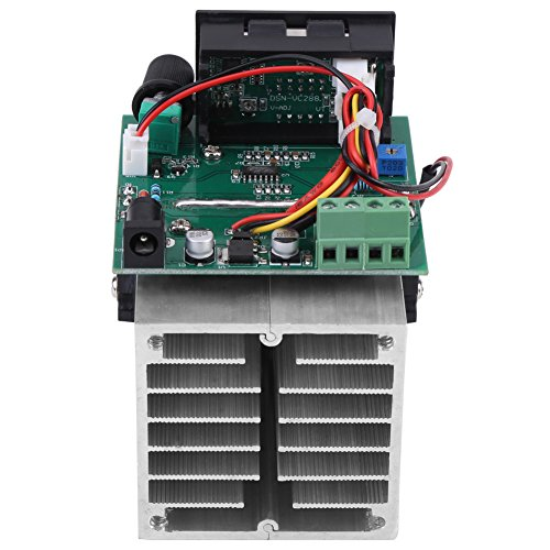 Elektronische Gleichstromlast, 0-10 A, 100 W, 12 V Entladebatterie, Testmodul für Kapazitätstester mit hochwertigem Kühlkörper