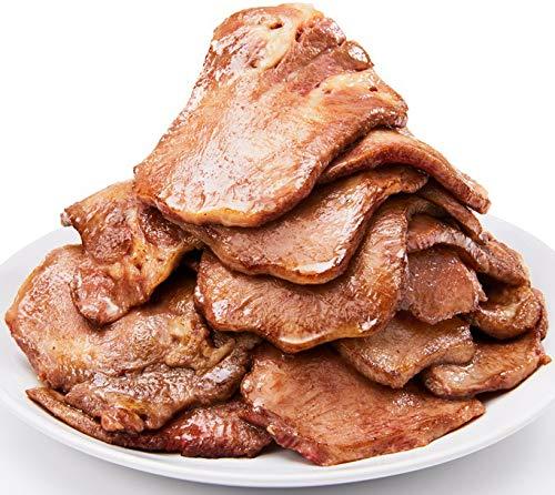 仔牛の牛タン 厚切りスライス お徳用500g / 牛たん ステーキ 焼肉 焼き肉 タンシチュー 牛タン