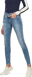G-STAR RAW 女士紧身牛仔裤 Lynn D 中腰 Super