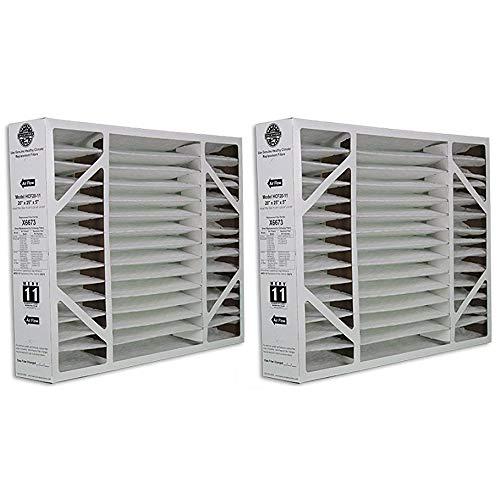X6673 Lennox 20x25x5 Merv 11 Filter Media 2 Pack