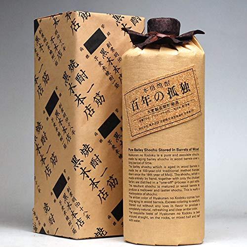 焼酎 ギフト 蔵元の包装紙で包装済み 百年の孤独720ml 40度 ラッピング済み 高級 黒木本店