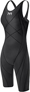 TYR Women's Tracer Light Aerofit Short John Swim Suit,Black