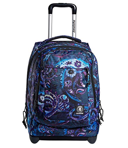 Trolley Backpack Invicta Bump Pro Cachemire Blue