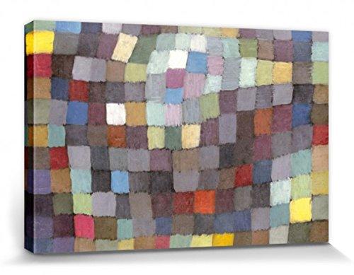 1art1 Paul Klee - Maibild, 1925 Bilder Leinwand-Bild Auf Keilrahmen   XXL-Wandbild Poster Kunstdruck Als Leinwandbild 120 x 80 cm