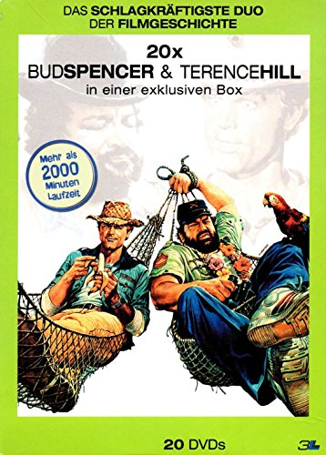 Bud Spencer & Terence Hill 3L Box 20 Filme [20 DVDs]