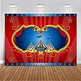 Mehofoto Circus Carpa Fotografía Fondo 7x5ft Vinilo Circo Carnaval Niños Fiesta de cumpleaños...