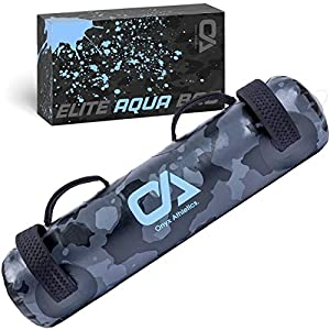 Onyx Athletics Elite Aqua Bag – Sandbags for Fitness with Water – Adjustable Water Weights with Strong Handles – Perfect…