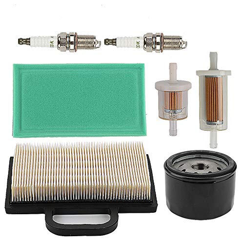 499486 499486S 698754 Air Filter + 691035 845125 Fuel Filter + 492932S 492932 696854 Oil Filter for Briggs & Stratton 401577 405577 406777 407777 40G777 40H777 445577 445677 24hp Engines Parts