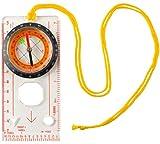 MALATEC 7953 - Brújula Impermeable de Bolsillo con brújula magnética para Exteriores