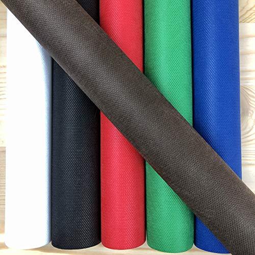 LAS TELAS ... Pack 3 Mtr. TNT Colores 5 Rollos 70 Grm + 1 Regalo,  Tejido No Tejido,  TST,  Tejido Sin Tejer,  Tejido para Ropa desechale médica. Ancho 0, 80 Mtr. (Colores Surtidos Fuertes)