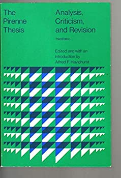 The Pirenne Thesis: Analysis, Criticism and Revision (College) 0669498580 Book Cover