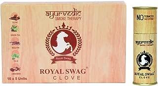 Royal Swag Herbal Cigarette Clove 1X5 100% Nicotine & Tobacco Free Cigarettes