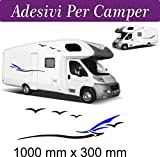 Just Go Online - Hobby - Stickers pour camping-cars, caravanes - Accessoires - Motif marin