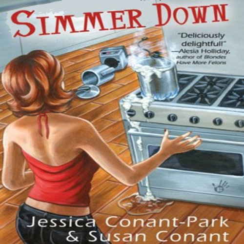 Simmer Down     A Gourmet Girl Mystery, Book 2              By:                                                                                                                                 Jessica Park,                                                                                        Susan Conant                               Narrated by:                                                                                                                                 Kim McKean                      Length: 7 hrs and 57 mins     20 ratings     Overall 3.7