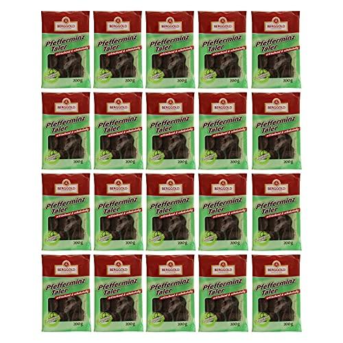 20er Pack Berggold Pfefferminztaler 20 x...