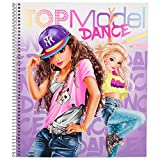 Depesche 10959 Malbuch TOPModel Dance, ca. 25,5 x 29 x 1,5 cm