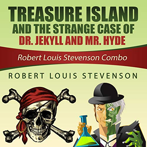 Treasure Island and the Strange Case of Dr. Jekyll and Mr. Hyde cover art