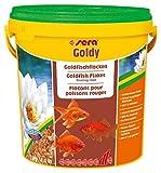 Sera Goldy, el alimento Principal para Peces pequeños a Base de Copos cuidadosamente Fabricados (también para cría de Especies exigentes) y Otros Peces de Agua fría exigentes