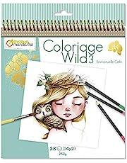 Avenue Mandarine - Cuaderno de colorear Wild by Emmanuelle Colin (Edición colector)