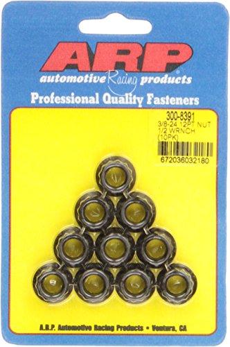 ARP 3008391 3/8-24 12 Point Nut Kit