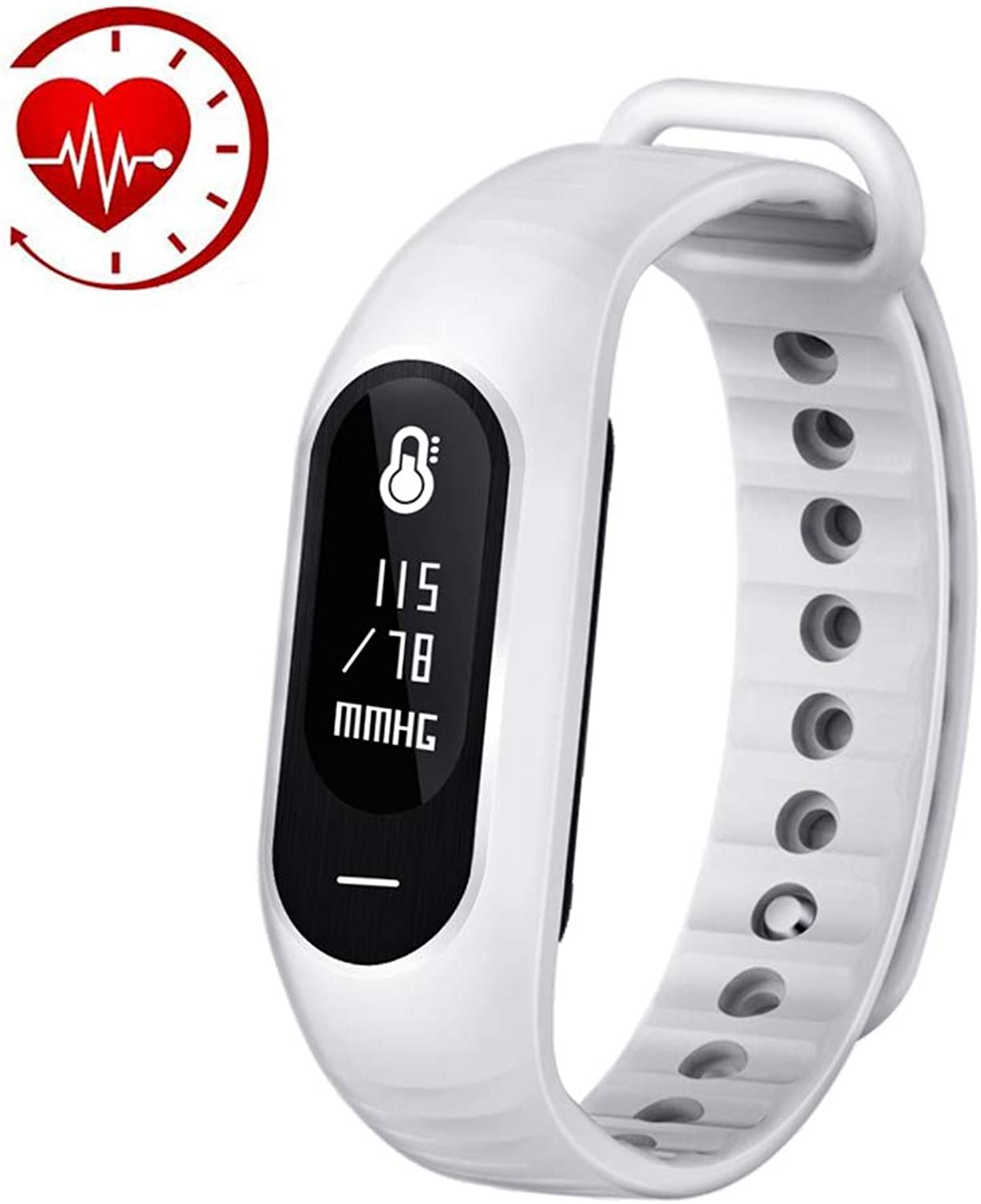 Fitness Tracker with Heart Rate Waterproof Step Counter Watch and Sleep Monitor Calorie Pedometer for Kids Women Men
