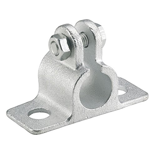 Dörner + Helmer 3012 Guss-Auflageböckchen für Welle 12 mm Platte 80x34 mm verzinkt