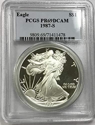1987 S American Eagle Proof $1 PR69 DCAM PCGS