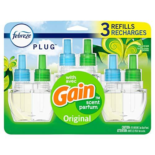 Febreze Plug in Air Freshener and Odor Eliminator