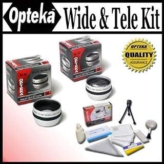 日本市場で強力 Opteka 0.5 X広角&2x望遠レンズセットソニー用..