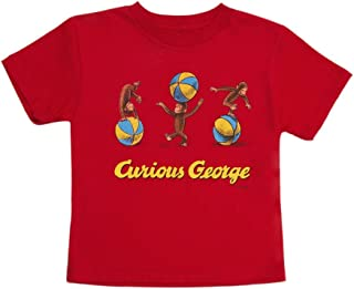 Best curious george red shirt toddler Reviews