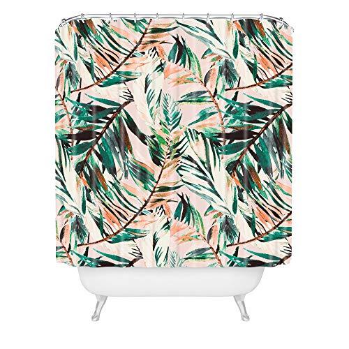 Deny Designs Marta Barragan Camarasa Wüsten-Duschvorhang, 182,9 x 175,9 cm, Grün