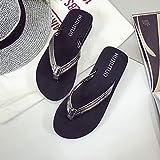 Zapatos de cuento de playa, chanclas de playa, chanclas con punta de tacón, tacón alto, 45 cm, diseño de piel de serpiente gris