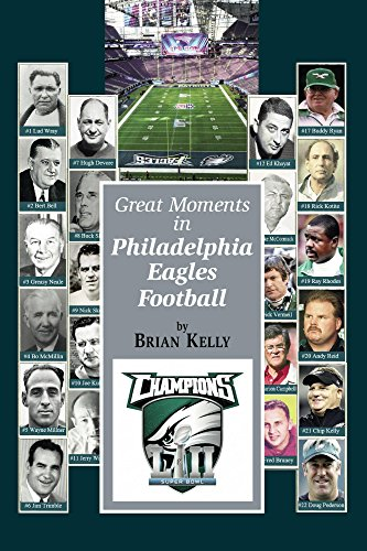 The Great Moments in Philadelphia Eagles Football: This book begins at the beginning of Football and goes to the Doug Pederson era. (English Edition)
