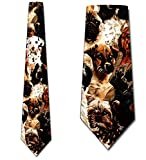 Dogs Allover Tie Mens Necktie