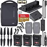 DJI Mavic 2 Fly More Kit with Starter Accessory Bundle, Includes: 3X Protective Battery Bags, Landing Gear, and More