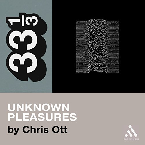 Joy Division's Unknown Pleasures audiobook cover art