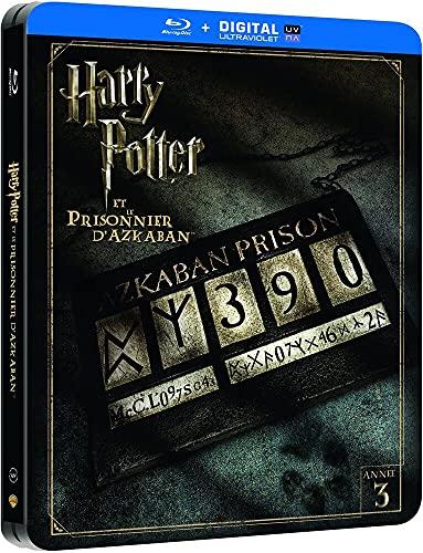 Harry Potter et le prisonnier d'Azkaban - Edition limitée Steelbook - Année 3 - Le monde des Sorciers de J.K. Rowling - Blu-ray [Édition Limitée boîtier SteelBook]