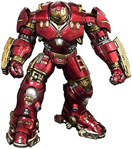 Dragon DRA-38146 Avengers 2 Movie Age of Ultron Vignette PVC-Statue 1 9   Hulkbuster Iron Man-40cm, Rot, Gold