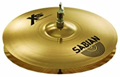 Best-selling X-Celerator Air-Wave bottom design reduces Air Lock for Maximum Clarity Bright, Crisp and accurate like no other Hats at this price point Available in Natural and Brilliant Finish Designed to fit within the average drummer's cymbal budge...