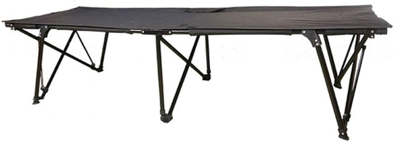 RNGNBKLS Lit De Camp Canapé-lit Camping Bed Ultraléger Pliable Portable avec Plein Air Couchage Transat Costauds Voyage Charge Maximal120kg