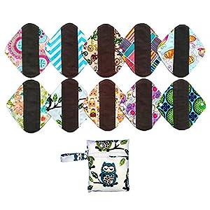 Bamboo Mama Cloth/ Menstrual Pads/ Reusable Sanitary Pads Panty liner