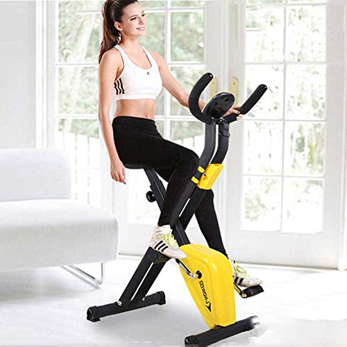 D&F Mini Indoor Cycling Bikes Exercise Bike Spinning Bike Foldable Domestic...