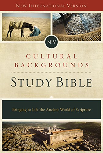 NIV, Cultural Backgrounds Study Bible, eBook: Bringing to Life the Ancient  World of Scripture - Kindle edition by Zondervan, Keener, Craig S., Walton,  John H.. Religion & Spirituality Kindle eBooks @ Amazon.com.