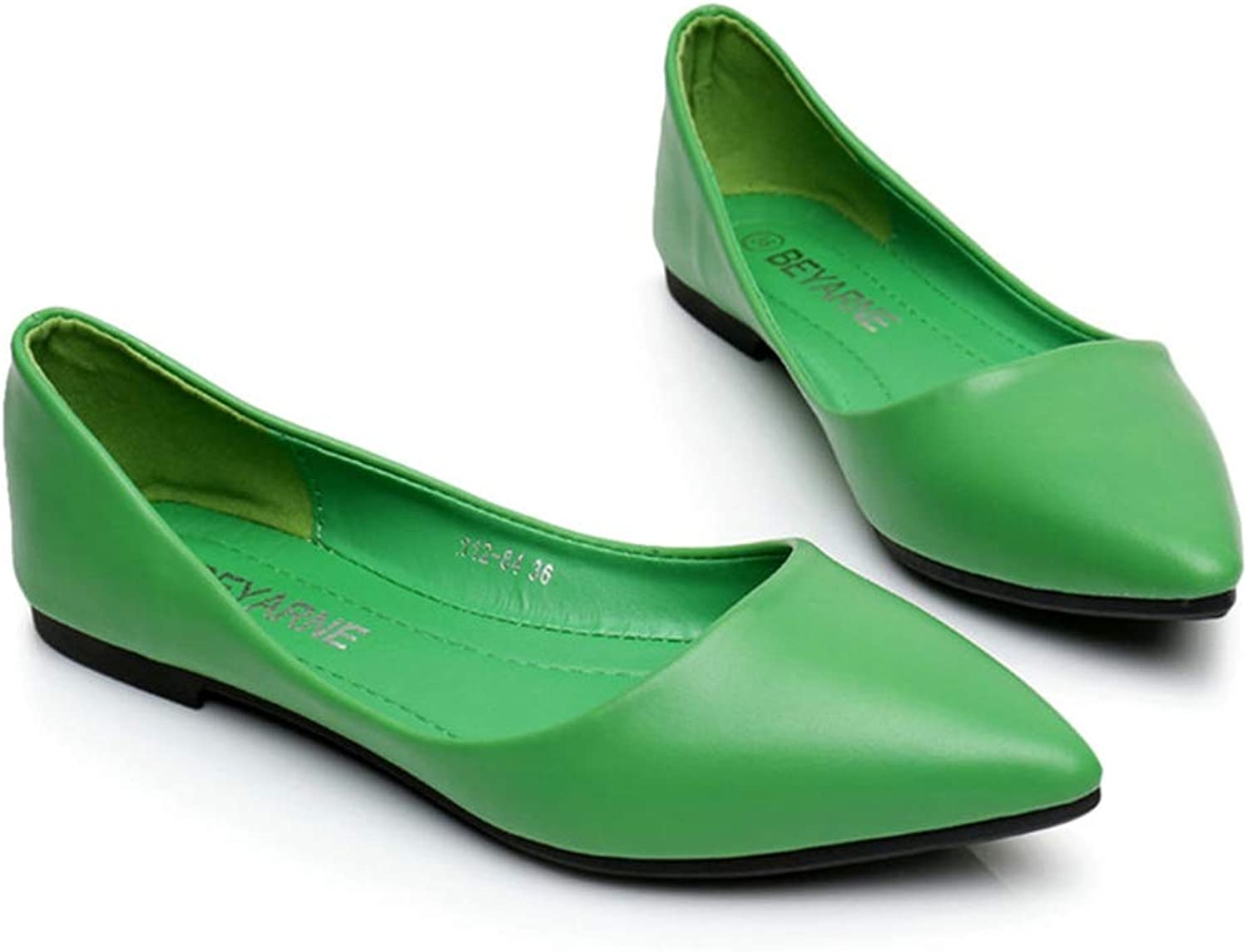 Woman Genuine Leather Flat shoes Fashion Hand-Sewn Leather Loafers Hole shoes