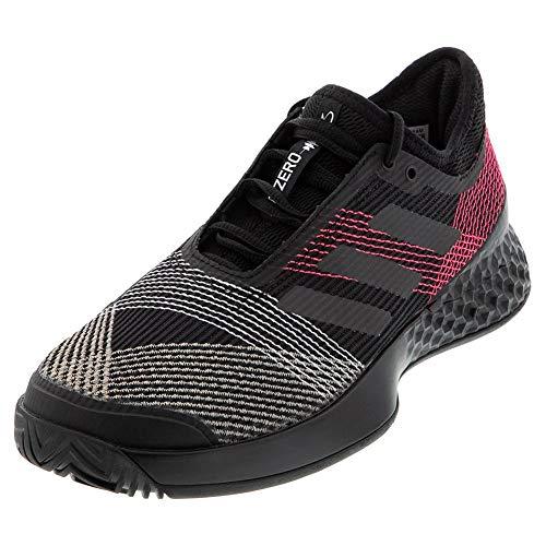 adidas Adizero Ubersonic 3 Chaussures de Tennis pour Homme, Noir/Noir/Rose, 40 EU