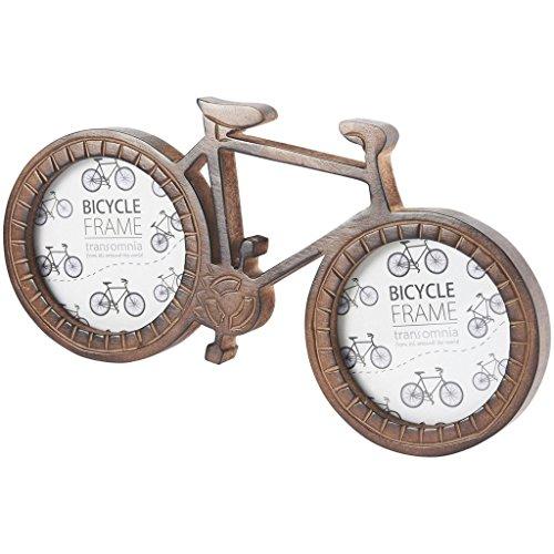 Transo Bicicletta Doppia Foto Cornice