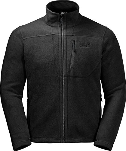 Jack Wolfskin Herren Vertigo Men Sweatshirt, Black, M