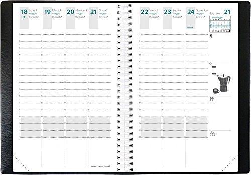 QUO VADIS AGENDE 539044Q TIME&LIFE POCKET IT so guaina Settimanale 12 mesi- GEN/DIC10X15 Anno 2021