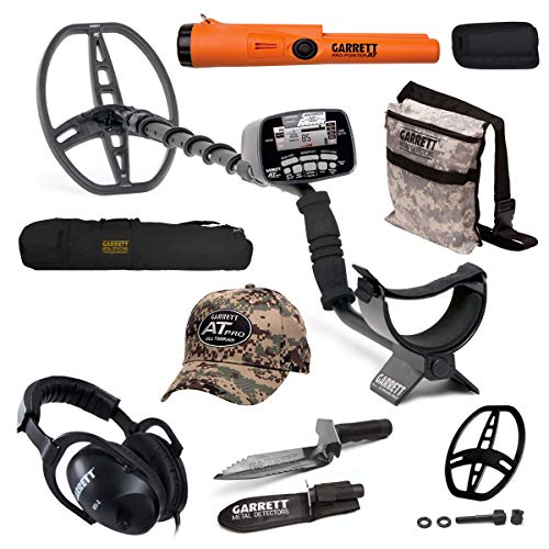 New Garrett AT Pro Submersible Metal Detector Package with Pro Pointer AT