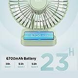 Zoom IMG-1 easyacc ventilatore da tavolo 6700